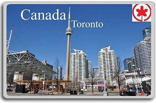 TORONTO CANADA CN TOWER CANADA FRIDGE MAGNET  . NEW