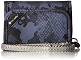 Pacsafe RFIDsafe V125 Anti-Theft RFID Blocking Tri-Fold Wallet, Grey Camo