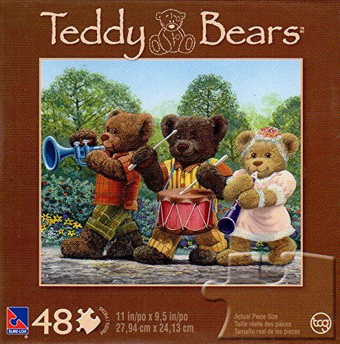 Teddy Bears - Musical Parade - 48 Piece Jigsaw Puzzle