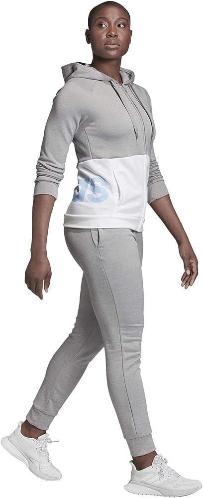 adidas Survêtement Femme Linear French Terry: Amazon.es: Deportes ...