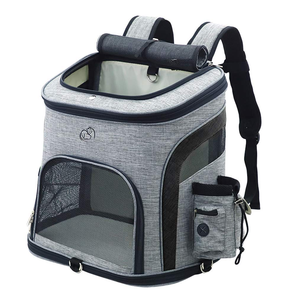 a2806c0b7ca9 A Carrier Backpack,Breathable ScratchResistant Pets Bag with Mesh ...