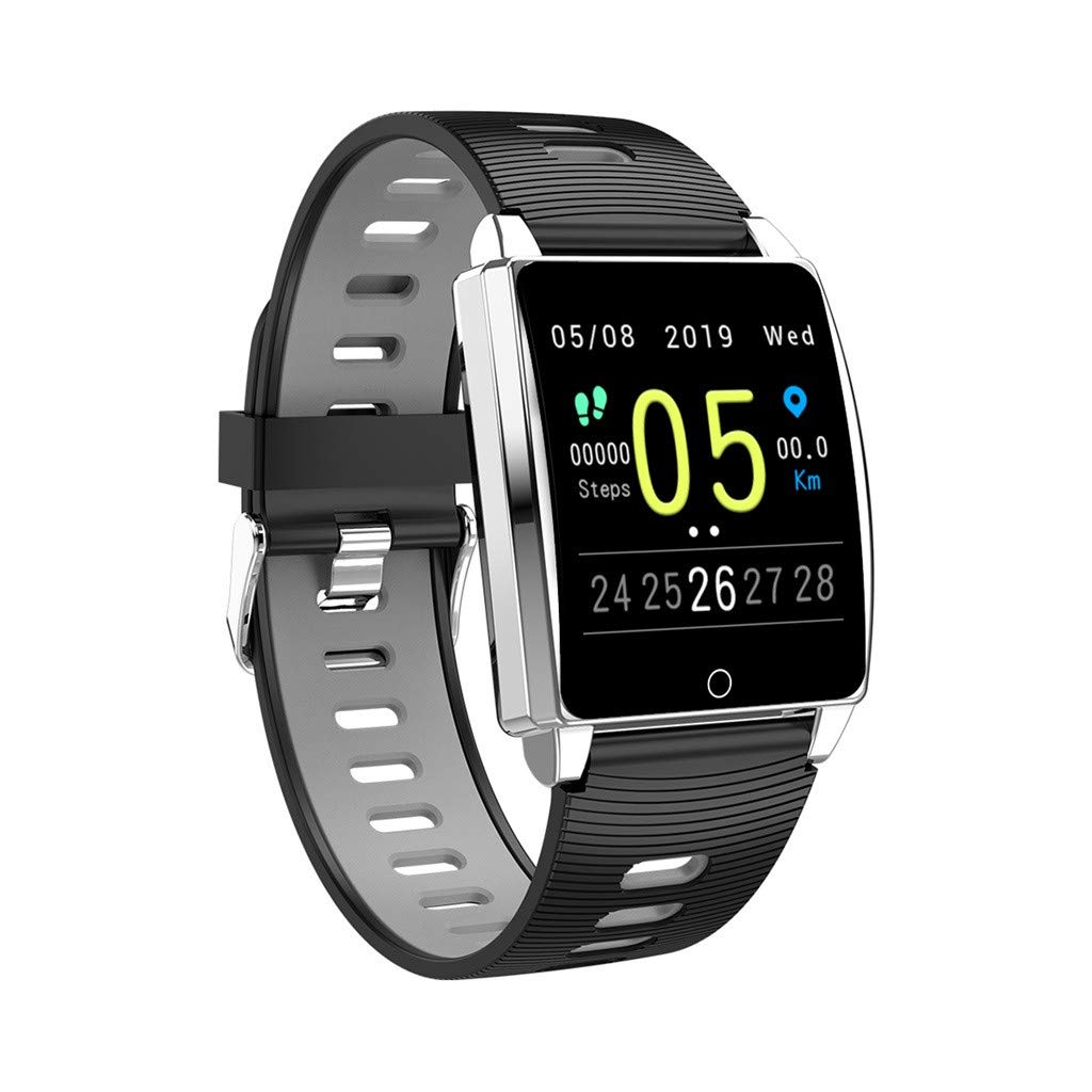 Smart Watches for Men Android, YEZIJIN AK18 Heart Rate Blood Pressure Sleep Monitoring SmartWatch Pedometer Tracker for Father Men Student Youth Teens Boyfriend Lover's Birthday