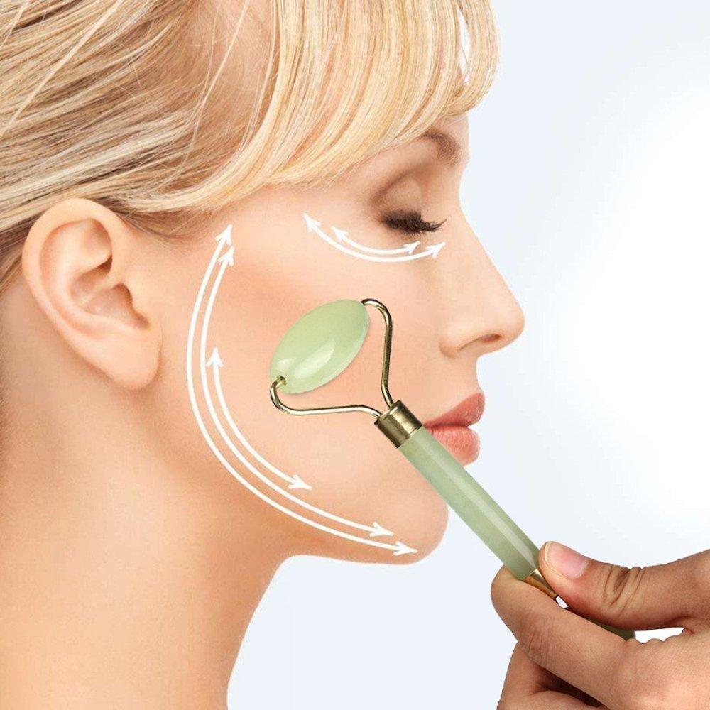 Royal Jade Roller Massager Schlankheits-Tool Gesichts-Gesicht Massage-Rejuvenates Gesicht und Hals Haut, Gesicht schlanker Careshine