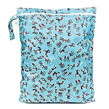 Bumkins Laundry Bag Blue 1 Pack
