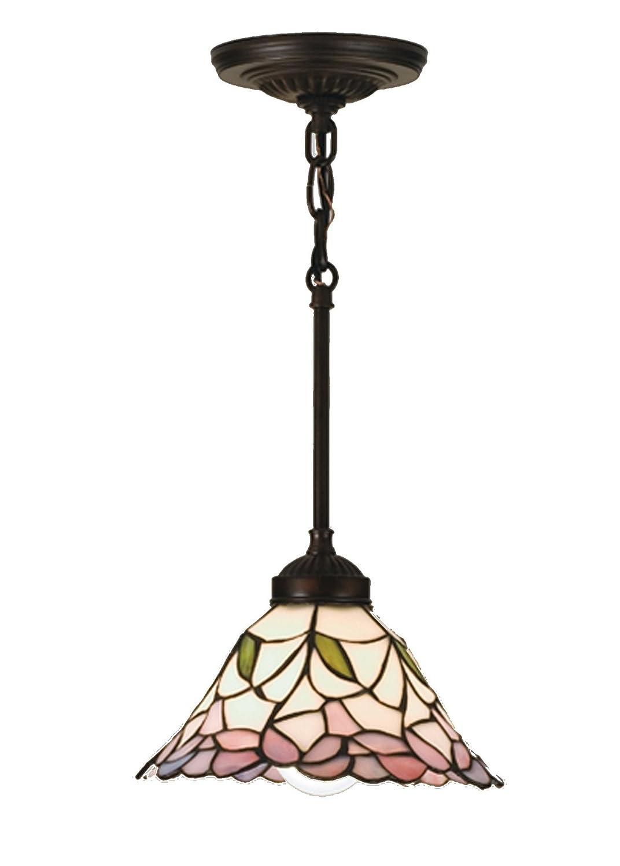 """Meyda Tiffany 48919 8.5""""W Daffodil Bell Mini Pendant"""