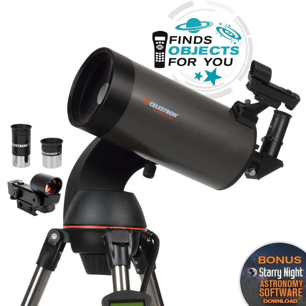 with 18778 AC Adapter Black Black Celestron NexStar 90SLT Mak Computerized Telescope