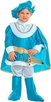 NET TOYS Disfraz Azul de Rey o príncipe Infantil Noble Traje Infantil ...