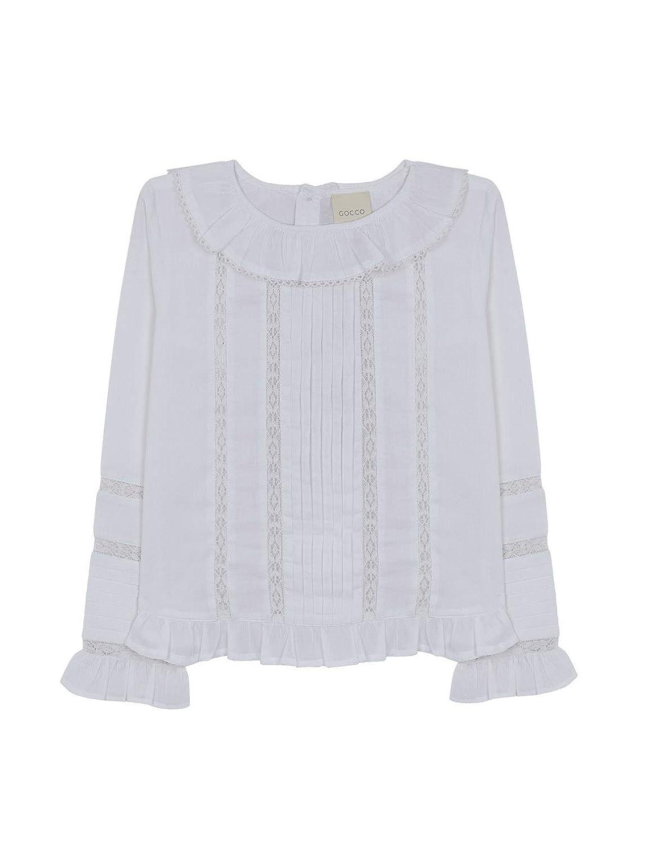 Gocco Girl's Blusa Jaretas Blouse W83CBLCA203