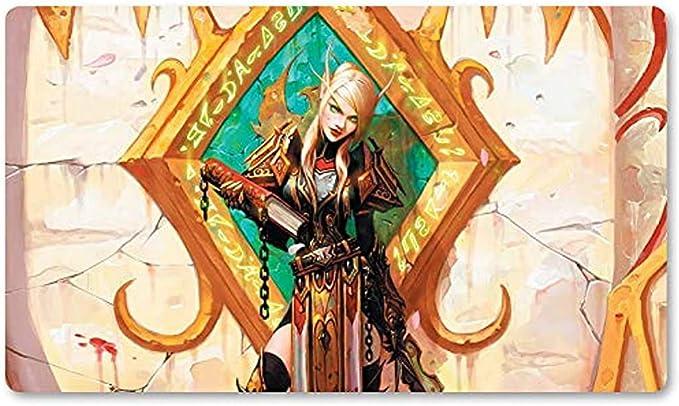 Warcraft22 - Juego de Mesa Warcraft Playmat Wow Table Mat Juegos Keyboard Pad Tamaño Mousepad para Yugioh Mon MTG o TCG 30X80CM: Amazon.es: Electrónica