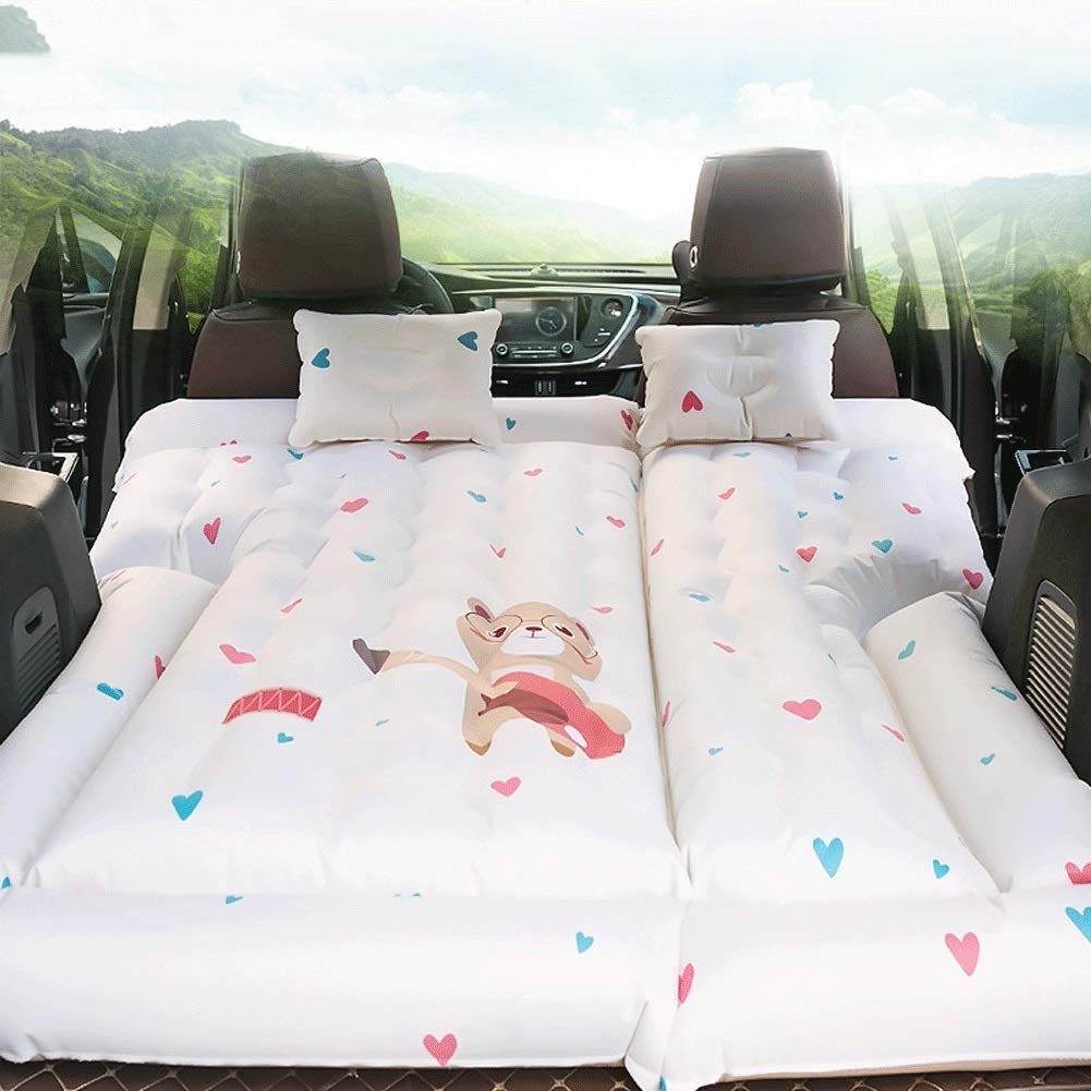 ZCY SUV Travel Car Inflatable Mattress, Car Middle Row Car Make Love and Sleeping Air Bed, Protable Outdoor Self-Driving Tour Inflatable Bed Pad by ZCY