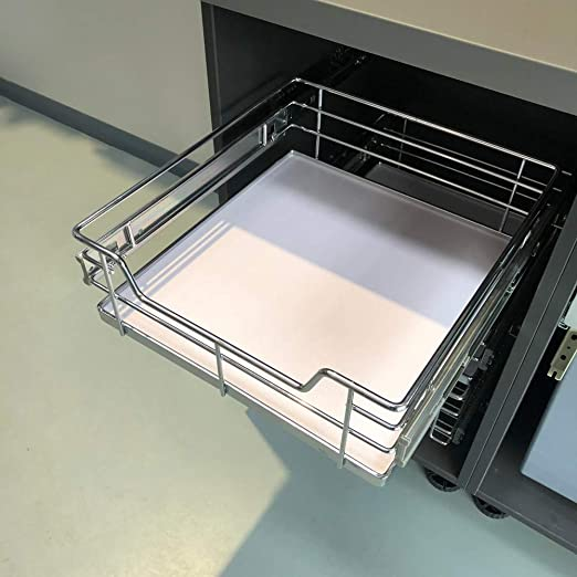 Pull Out High Quality Solid Base Baskets Kitchen Base Larder Units