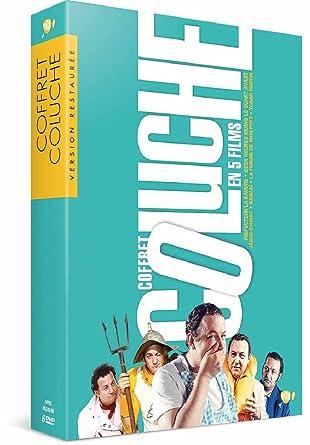Coluche Coffret 5 Films Tchao Pantin Inspecteur La