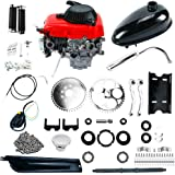 Yaemarine 49cc Powerful Pull Start 4-Stroke Cycle Motor Kit Compete Gas Kit Motorized Bike
