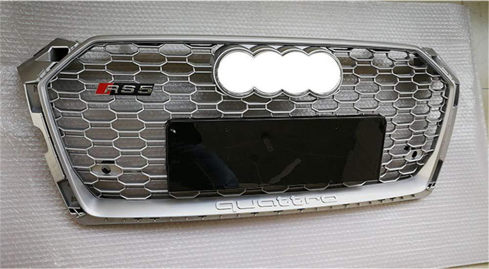 S5 2017-2019 Xinshuo Griglia anteriore in ABS con griglia a nido dape per RS5 Style A5