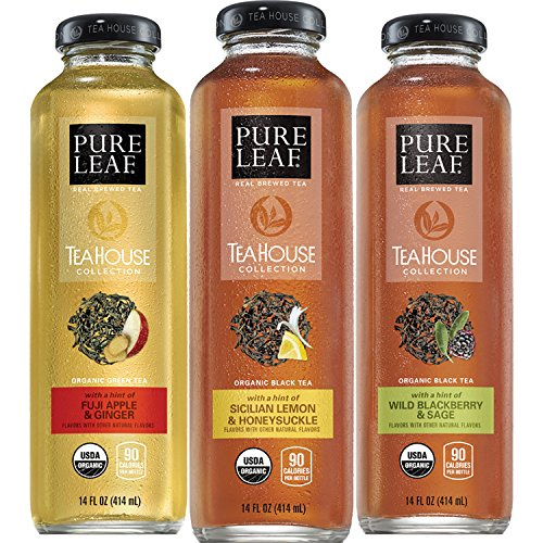 Pure Leaf Tea House Collection, Organic Iced Tea Variety Pack, 14 Ounce (pack of - Ginger Collection