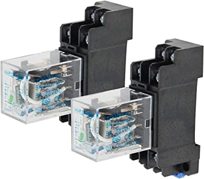 DC 12V Coil 5A General Purpose Power Relay 8 Terminals DPDT HH52P
