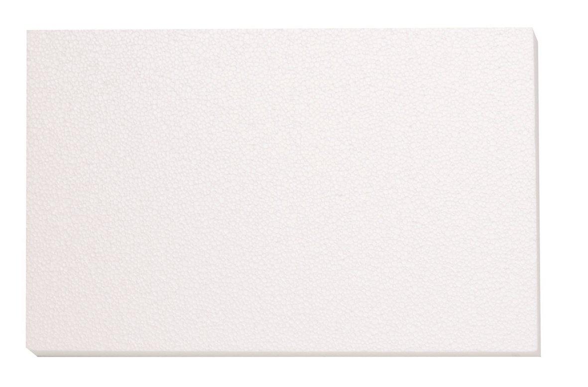 Glorex 63803860K di polistirolo Platte, polistirolo, Bianco, 50x 30x 2cm GLOREX GmbH 6 3803 860K