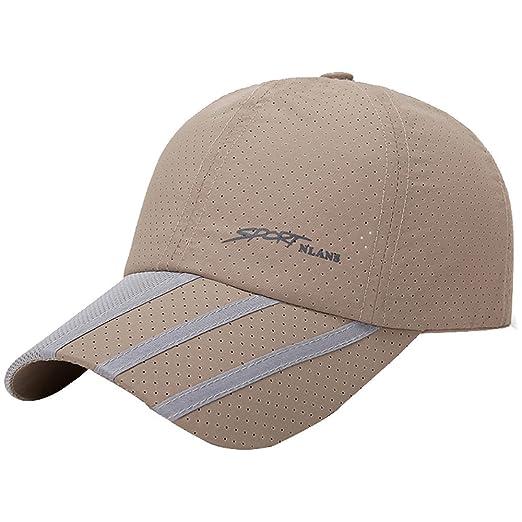 ef1f7b8021c CSSD Fashion Baseball Caps for Men Outdoor Sport Golf Gentleman Style Sun  Hats (Beige)