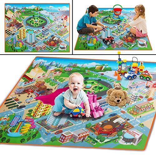 Baby Kids Toddler Crawl Play Game Picnic Carpet Beach Toys 120cmX90cm