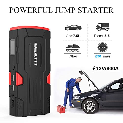 Mighty Beatit D11 800A Peak 18000mAh 12V Portable Car Jump Starter
