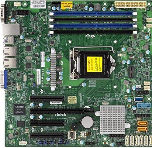 Supermicro Micro ATX DDR4 LGA 1151 Motherboards X11SSM-F-O (Pentium Sata Motherboard)