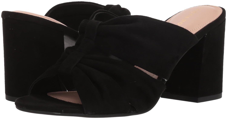 Taryn Nappa Rose Women's Lana Sheep Nappa Taryn Slide Sandal B074B3ZQ1Y 5.5 M M US|Black bfc68f
