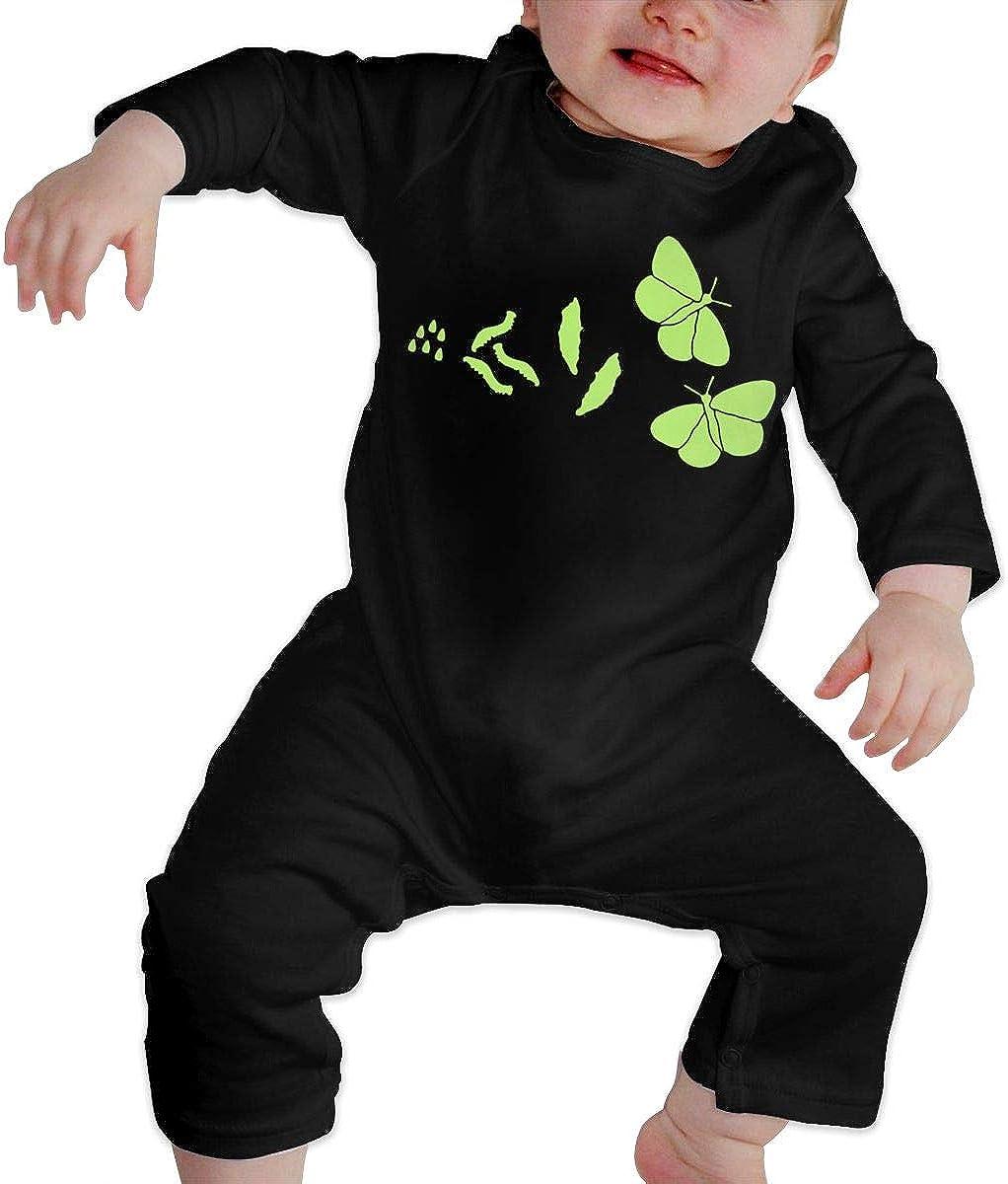 Butterfly Evolution Baby Jersey Bodysuit Cotton Bodysui