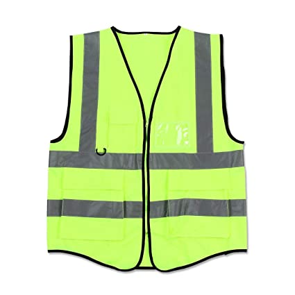 Executive Hi Vis Visibility Two Tone Safety VestWaistcoatWork Wear