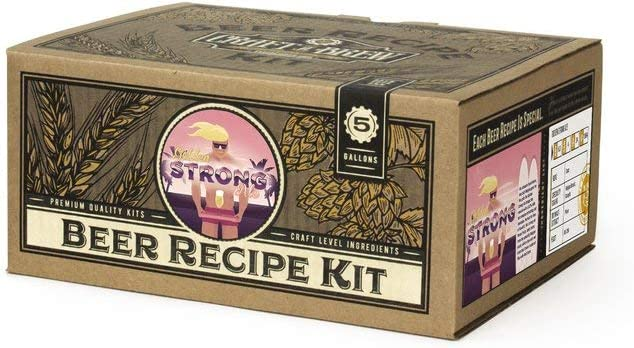 Craft A Brew - Home Brewing Ingredient Kit (5 Gallons) (Golden Strong Ale)