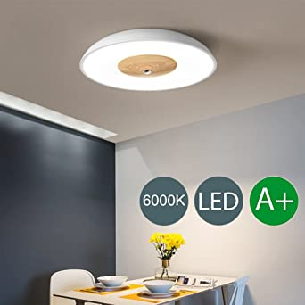 LED Lampes Chambre Plafonnier Moderne Rond Minimalis Le Créatif Plafond Éclairage  Chambre Salle Cuisine Couloir Salle