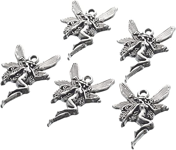 The Woodland Collection 14 different antique silver tone charms