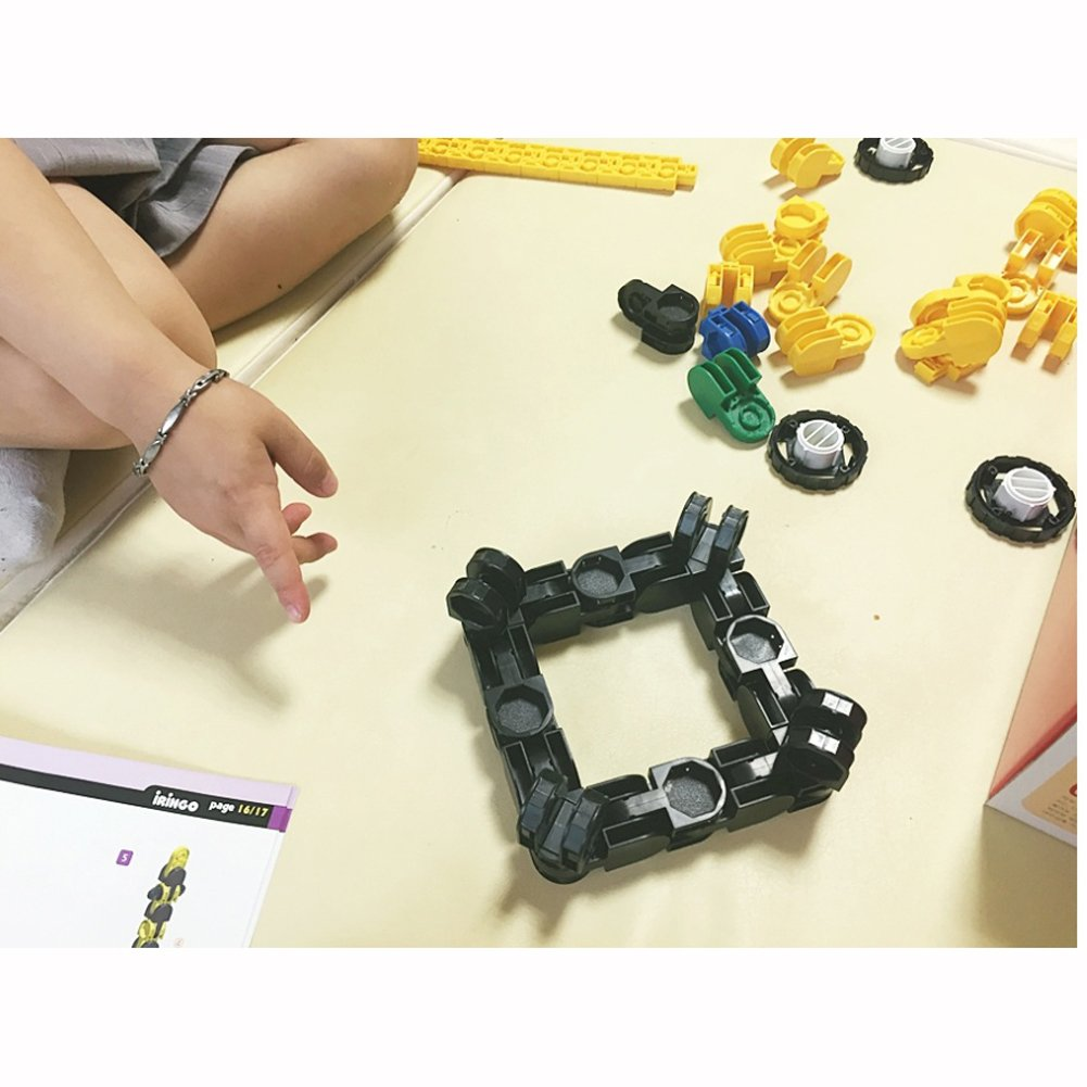 iRiNGO The starter Set 212pcs Transformable Kids Creativity IQ EQ Block Toy by iRiNGO The starter (Image #8)