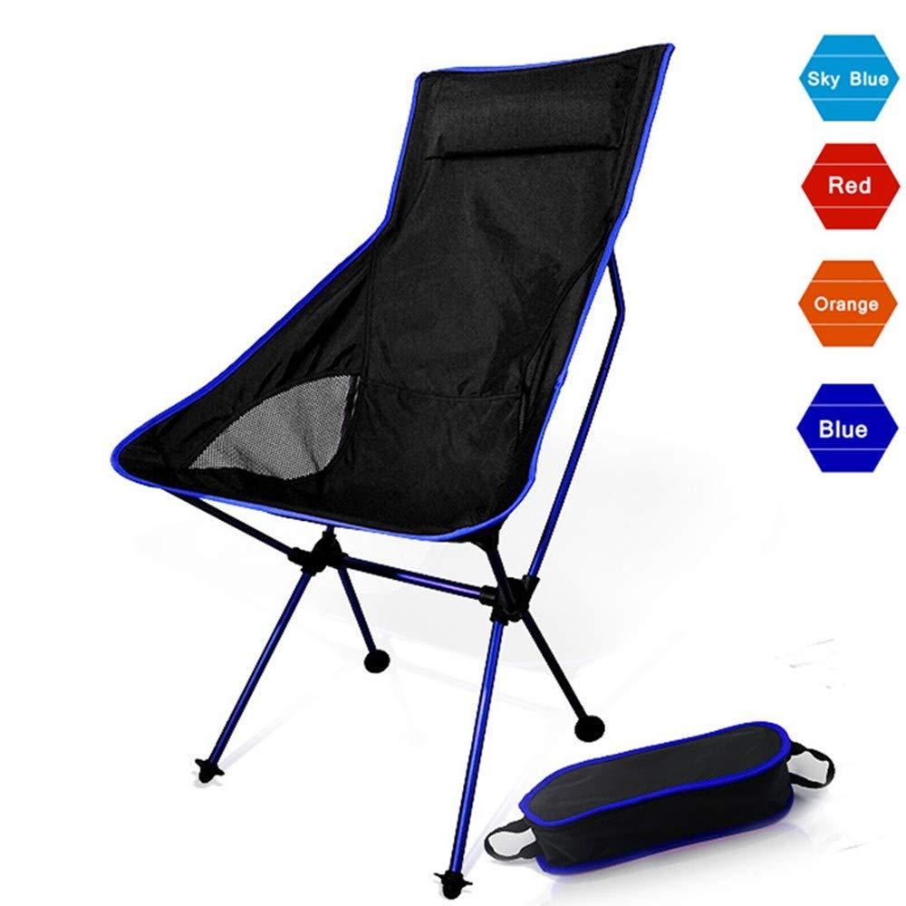 YHSCKM Silla de Camping Plegable Portable Luna Silla Pesca ...