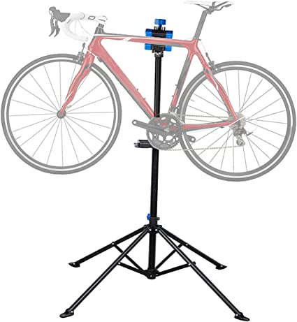 Bike Bicycle Repair Work Stand Rack With Tool Tray