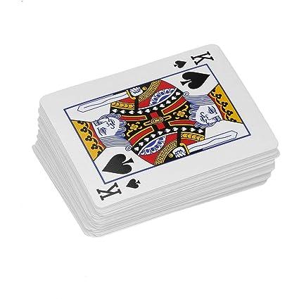 Moda Ordinaria de Cartas Poker Jugar Primer Plano apoyos ...