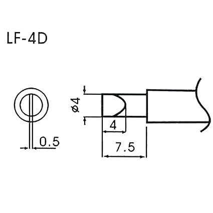 AOYUE WQ/LF-4D Puntas soldadura sin plomo Ø4.0mm x 0.5