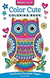 Color Cute Coloring Book: Perfectly Portable Pages (On-the-Go Coloring Book)