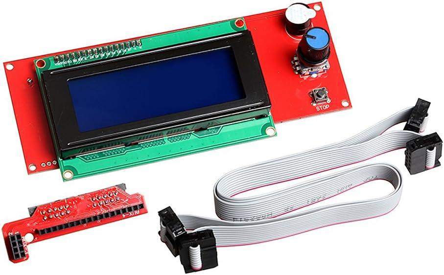kookye 3d Impresión controlador Kit para Arduino Ramps 1.4 + Mega ...