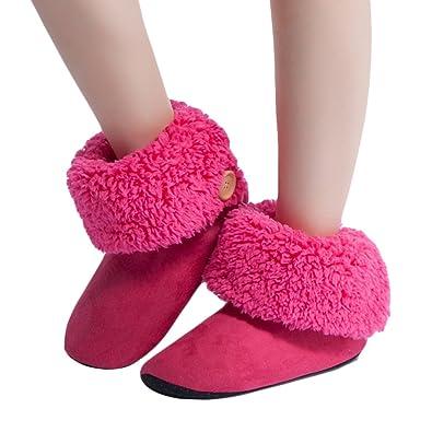 MaaMgic Womens Fuzzy Christmas House Slippers Ladies Cute Bedroom Indoor  Winter Fluffy Slippers. Amazon com   MaaMgic Womens Fuzzy Christmas House Slippers Ladies
