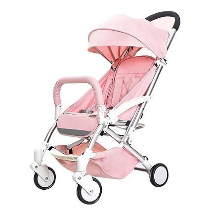 HAOJUN El Paraguas Plegable Ligero del Cochecito de bebé Puede Sentarse el Mini Cochecito de bebé