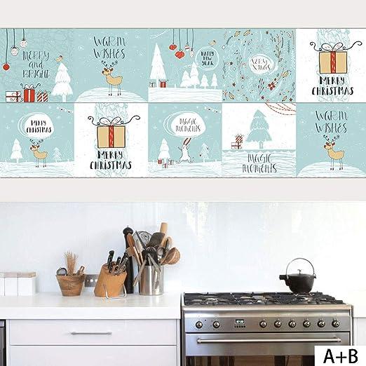 Decoraciones navideñas para colorear azulejo de Navidad/niños ...