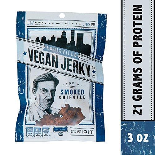 Louisville Vegan Jerky - Smoked Chipotle