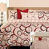 AnyGo Bedecor 3 Reversible Pieces Duvet Cover Sets