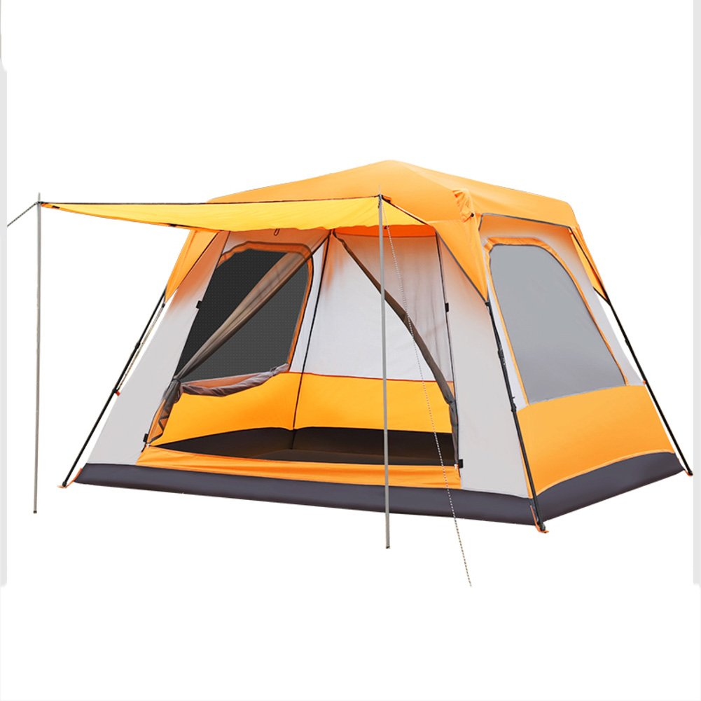 TY&WJ Familie Campingzelt Double Layer Regendichte Tipi Für Outdoor-sportarten Wandern Verlängert Zelte 8-10 Personen