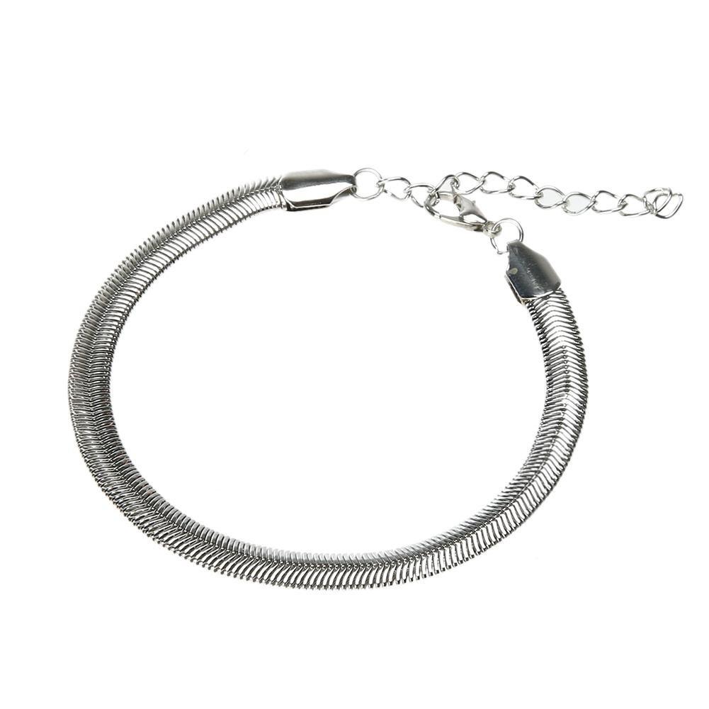 Everpert Bracelet de cheville, chaîne en métal mince Tempérament Échelle Pied Chaine de cheville