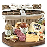 GreatFoods Epicurean Meat and Cheese Premier Gift Basket