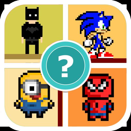 Name The Pixel Cartoon Character Quiz Game: Amazon.com.br