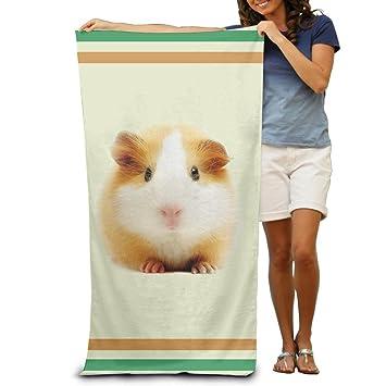 Toallas de baño divertidas y bonitas para hámster, toallas de playa, paños de lavado para adultos, suaves y absorbentes, 78,74 x 121,92 cm: Amazon.es: Hogar