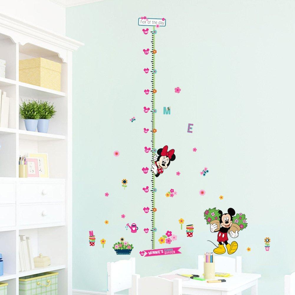 Amazon Yate Height Measurement Growth Chart Garden Mickey