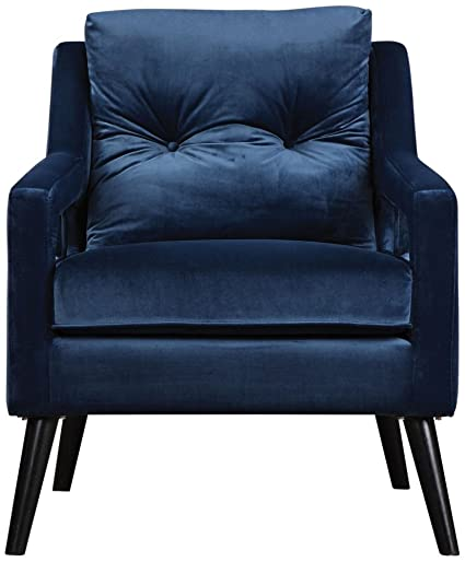 Beau Image Unavailable. Image Not Available For. Color: Uttermost Velvet Armchair  In Blue